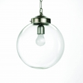 Lamp for ceiling, glass ball, ø-30