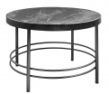 MIDNIGHT coffee table, black marble
