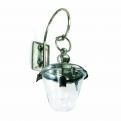 Outdoor lamp for wall w/hook, h-35