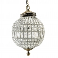 Crystal lamp, glass beads, medium ball