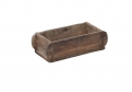 BRICK MOULD, wooden, single