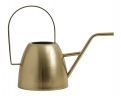 Water pitcher, brushed brass