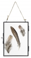 Metal frame, hanging, black, S