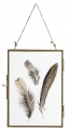Metal frame, hanging, gold, S