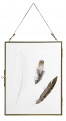 Metal frame, hanging, gold, L