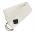YOGA cotton belt, ivory