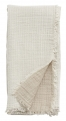 Cotton shawl, off white/beige
