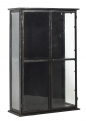 DOWNTOWN iron wall cabinet, black