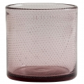 BUBBLE vase/T-light holder, purple, S