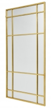 SPIRIT Iron wall mirror, gold