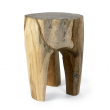 RAW wooden stool, teak